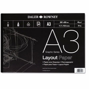 Daler Rowney - Layout Pad 45gsm