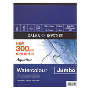 Daler Rowney - Aquafine Jumbo Watercolour Pad 300gsm NOT