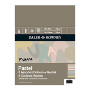 Daler Rowney - Murano Pastel Paper Pad 160gsm NEUTRAL