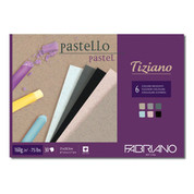 Fabriano - Tiziano Pastel Pad 160gsm - Flecked Colours