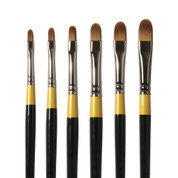 Daler Rowney - System 3 - SY67 Synthetic Brush - Filbert