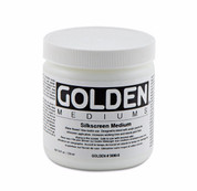 Golden - Silk Screen Medium
