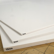 Foamboard - White 10MM (Packs of 10)