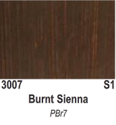 Atlantis Artist Oils - Burnt Sienna S1
