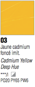 Pebeo XL Oils - Cadmium Yellow Deep Hue