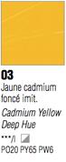 Pebeo XL Oils - Cadmium Yellow Deep Hue