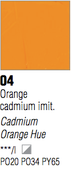 Pebeo XL Oils - Cadmium Orange Hue