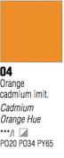 Pebeo XL Oils - Cadmium Orange Hue