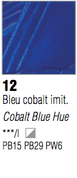 Pebeo XL Oils - Cobalt Blue Hue
