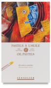 Sennelier Oil Pastels - Set of 48 Assorted Colours