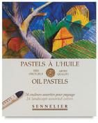 Sennelier Oil Pastels - Set of 24 Landscape Colours