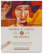 Sennelier Oil Pastels - Set of 24 Portrait Colours