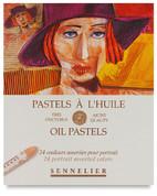 Sennelier Oil Pastels - Set of 24 Portrait Colours
