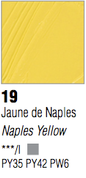 Pebeo XL Oils - Naples Yellow