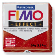 Staedtler Fimo Effect - Glitter Red