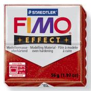 Staedtler Fimo Effect - Glitter Red
