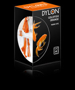Dylon Machine Fabric Dye - 350gsm + Salt - Goldfish Orange