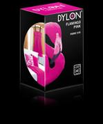 Dylon Machine Fabric Dye - 350gsm + Salt - Flamingo Pink