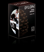 Dylon Machine Fabric Dye - 350gsm + Salt - Dark Brown