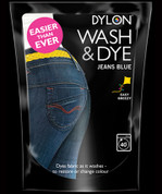 Dylon Wash & Dye Fabric Dye - Jeans Blue 400gsm