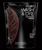 Dylon Wash & Dye Fabric Dye - Chocolate Brown 400gsm