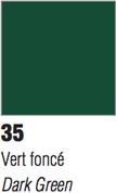 Pebeo Vitrail Transparent - Dark Green 45ml