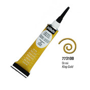 Pebeo Vitrail Cerne Relief - King Gold 20ml