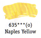 Daler Rowney Georgian Oil - Naples Yellow