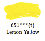 Daler Rowney Georgian Oil - Lemon Yellow