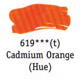Daler Rowney Georgian Oil - Cadmium Orange Hue
