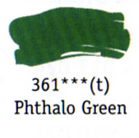 Daler Rowney Georgian Oil - Phthalo Green