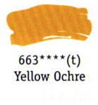 Daler Rowney Georgian Oil - Yellow Ochre