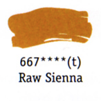 Daler Rowney Georgian Oil - Raw Sienna