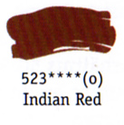Daler Rowney Georgian Oil - Indian Red