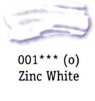 Daler Rowney Georgian Oil - Zinc White