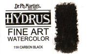 Dr. Ph. Martin's Hydrus Watercolour Ink - 11H Carbon Black