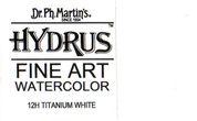 Dr. Ph. Martin's Hydrus Watercolour Ink - 12H Titanium White