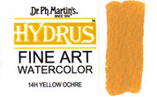 Dr. Ph. Martin's Hydrus Watercolour Ink - 14H Yellow Ochre