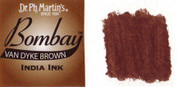 Dr. Ph. Martin's Bombay India Ink - Vandyke Brown 30ml