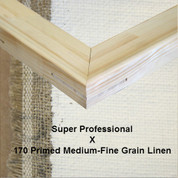 Bespoke: Super Professional x Universal Primed  Fine Grain Linen 170
