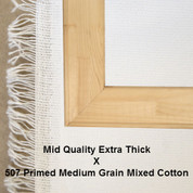 Bespoke: Mid Quality x Universal Primed Medium Grain Cotton Mixed Fibres 507