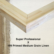 Bespoke: Super Professional x Universal Primed  Medium Grain Linen 109
