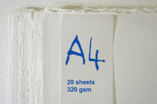 Khadi - Cotton Rag Paper Pack A4 320gsm - White