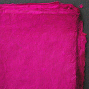 Khadi - Coloured Lokta Paper  30gsm - Fuchsia