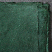 Khadi - Coloured Lokta Paper  30gsm - Green