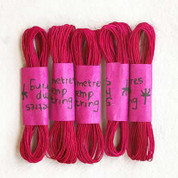 Khadi - Coloured Hemp String 5M - Fuchsia
