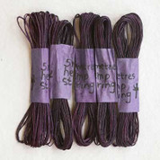 Khadi - Coloured Hemp String 5M - Plum