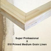 Bespoke: Super Professional x Universal Primed  Medium Grain Linen 510