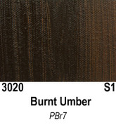 Atlantis Artist Oils - Burnt Umber S1