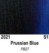 Atlantis Artist Oils - Prussian Blue S1